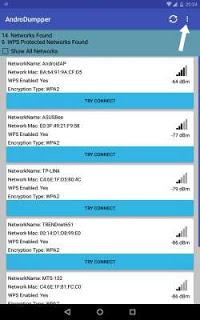 Cara Mengetahui Pasword Wifi Dengan  AndoDumpper
