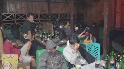 Melanggar Prokes, Keramaian di Cafe Laruna Dibubarkan, Polres Tator periksa Pemilik Café