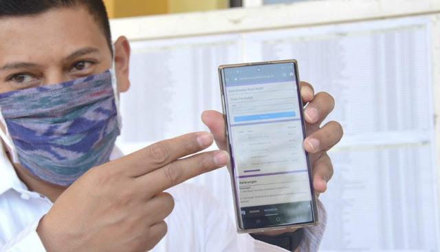 Walikota Kediri Luncurkan Aplikasi CekBansos