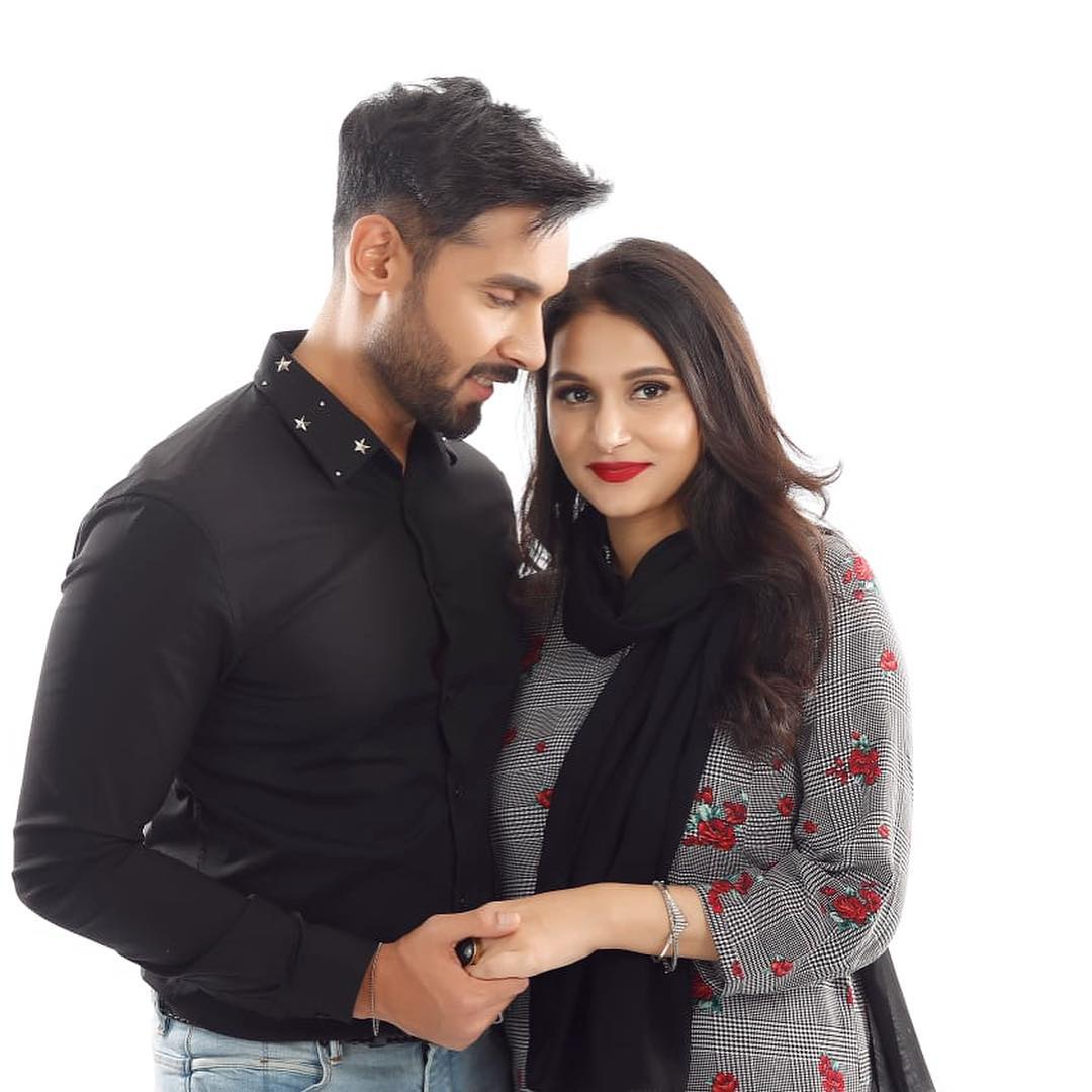 Famous Anchor Abdullah Sultan with his Wife