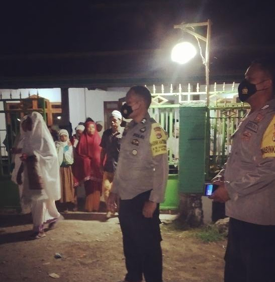 Iptu Ruslan Memberikan Himbauan Untuk Masyarakat Desa Tonda