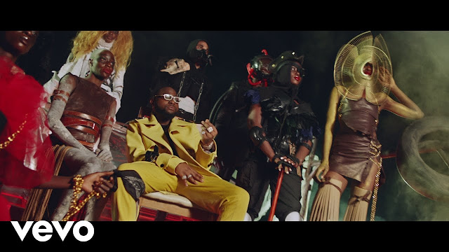 """(Video) Davido – """"Sweet In The Middle"""" ft. Wurld, Naira Marley, Zlatan (Mp4 Download)"""