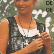 Conjunto: Chaleco + Falda a Crochet o Ganchillo