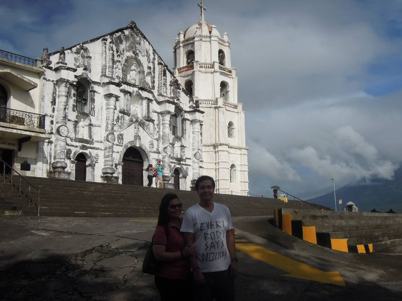 Visiting Daraga Church