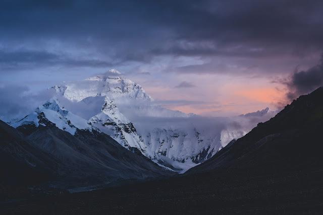 Mt. Everest Sunset