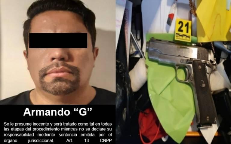 """Detienen a """"El Delta 1"""", jefe operativo y de sicarios del CJNG en Guadalajara"""