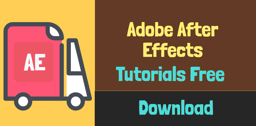 Adobe after effects tutorials free download | Animated