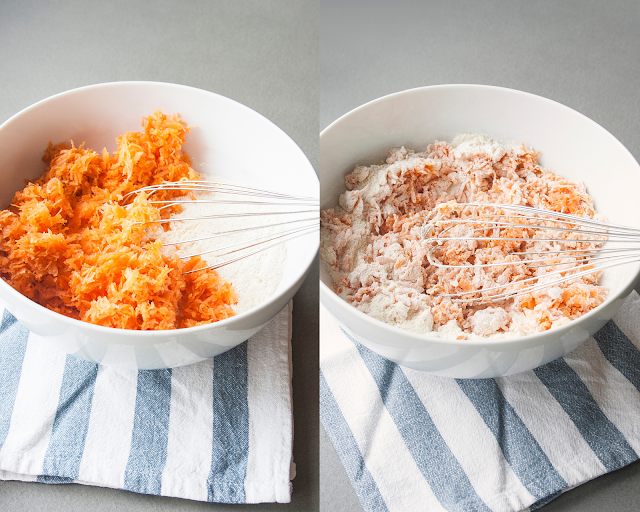 Muffin alle carote, le tortine monoporzioni facili da fare step 3 e 4
