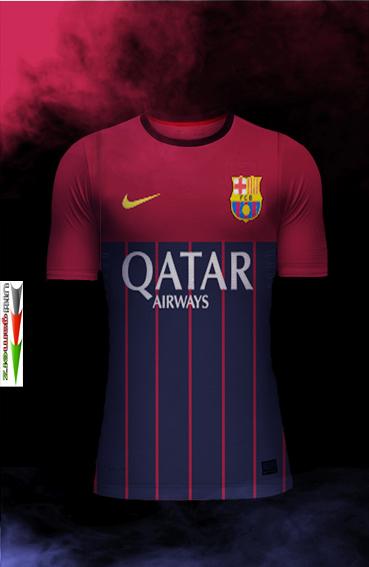 b9a3ecafc FC BARCELONA 2015-16 FANTASY KITS PES 2013
