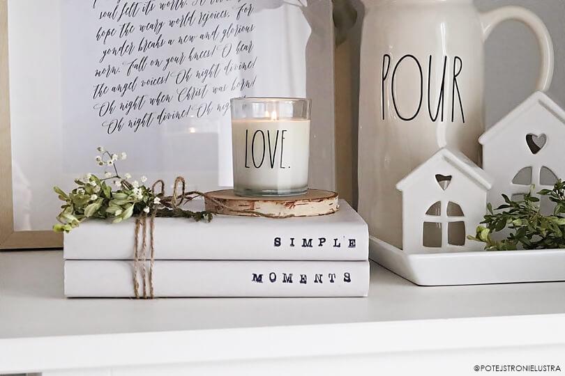 DIY: Stamped Books. Tania, prosta i efektowna dekoracja na każdą okazję