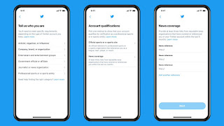 Twitter Halt Account Verification