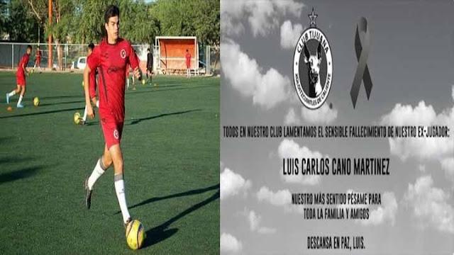 Ejecutan en Caborca, Sonora a Luis Carlos Cano ex jugador de Xolos de Tijuana