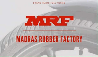 Logo MRF Madras Rubber Factory