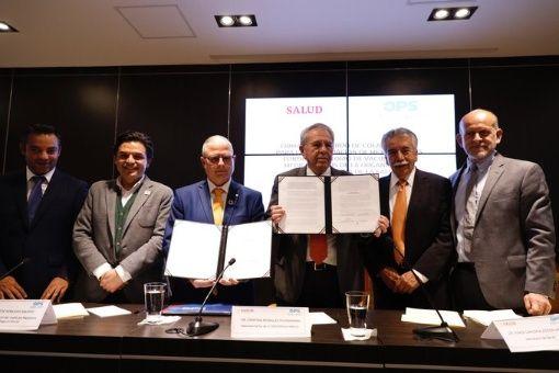 Gobierno mexicano firma acuerdo de colaboración con la OPS