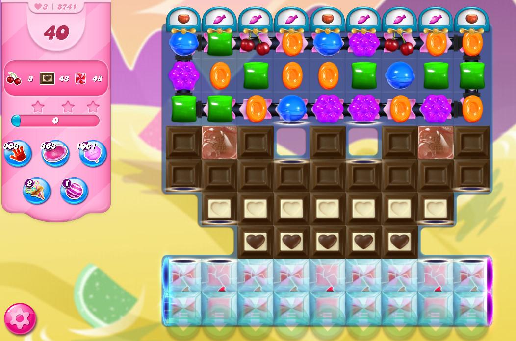 Candy Crush Saga level 8741