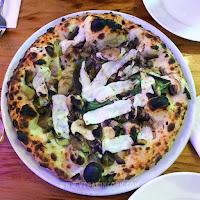 vegan pizza mushrooms truffle oil Oak Fire Pizza Cork