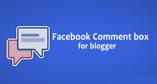 Hướng dẫn cách thêm Facebook Comment vào Blogspot