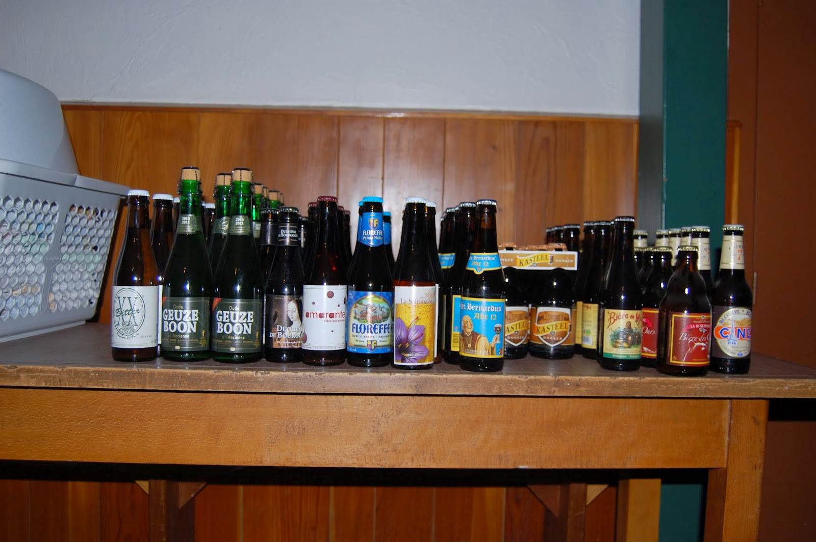 Bierverkostung Dezember 2013