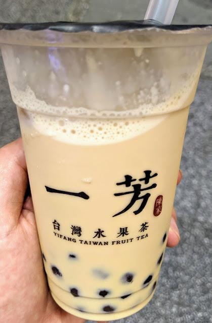 タピオカ店[一芳(イーファン)台湾水果茶]吉祥寺店 タピオカミルクティー