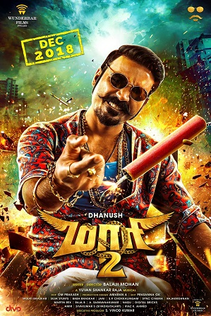 Watch Online Free Maari 2 (2019) Full Hindi Dubbed Movie Download 480p 720p HDRip