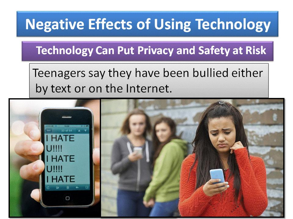 a personal opinion on the negative effects of cell phones on teenagers Effect of ban on phones adds up to equivalent of opinion the guardian view children's access to mobile phones in the uk, more than 90% of teenagers own a.