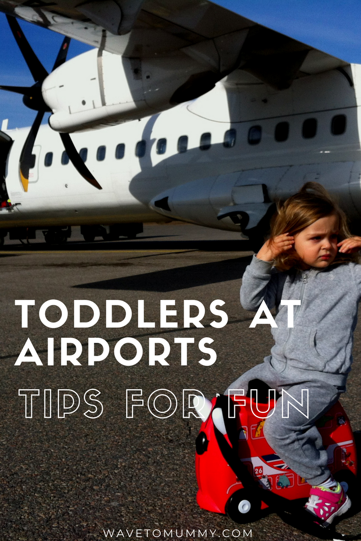 How to entertain toddlers at the airport - top tips for families travelling by air