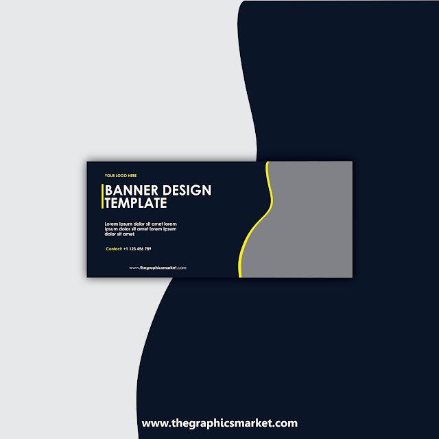 Banner design template download