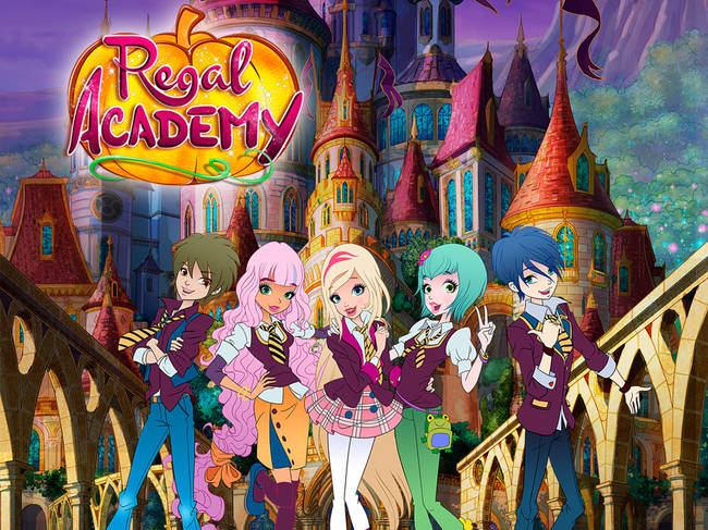 7b3d5b9aa4 Regal Academy is a new funny and exciting animated series (26 episodes X  26 ) from Winx Club creator Rainbow that brings classic fairy tale  characters into ...