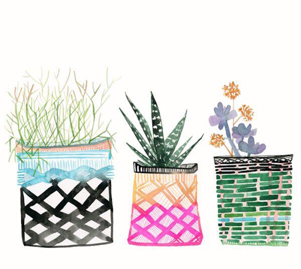 Cactus l minas descargables decorar tu casa es for Laminas cuadros estilo nordico