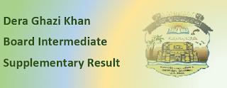 Intermediate Supplementary Result 2020 BISE DG Khan Board