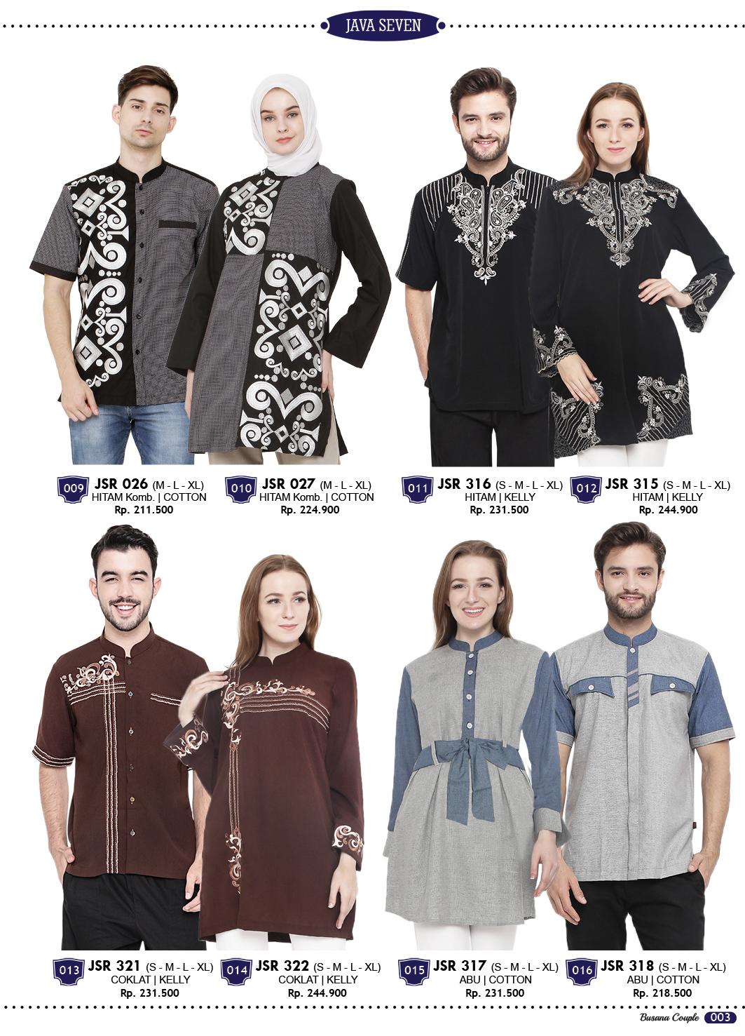 Katalog Terbaru Java Seven 2017 2018 Fashion Pria Wanita Dan Anak Katalig Kaos Lelaki Tersedia Baju Muslim Koko Busana Model Gamis Blus Muslimah Pakaian Couple Kemeja Jaket