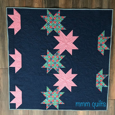 Stars Aligned quilt created by Sandra at mmm! quilts