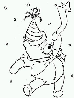 Dibujos de Winnie Pooh para Pintar, parte 4 - IMÁGENES PARA WHATSAPP ...