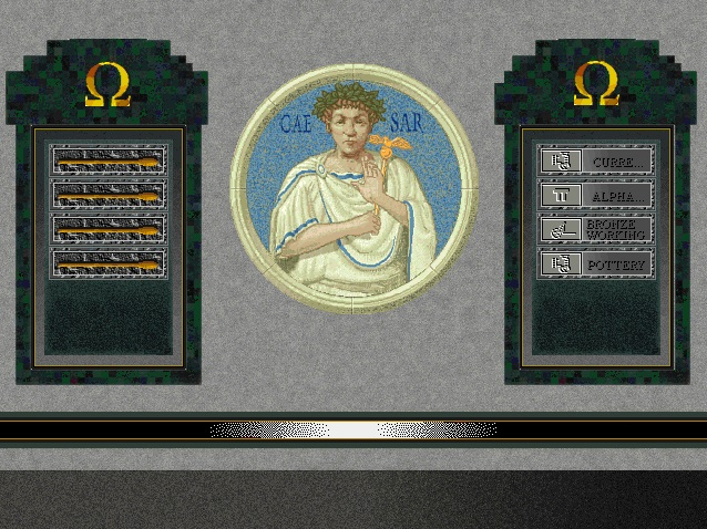 Screenshot from Sid Meier's Civilization II