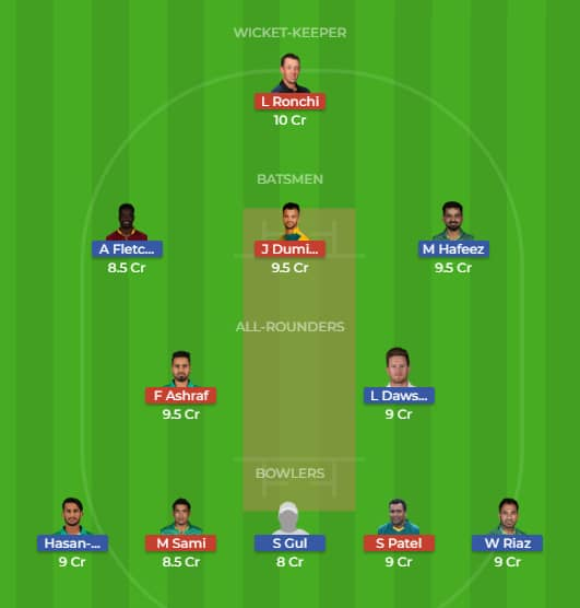 Islamabad United vs Peshawar Zalmi Dream 11 Predictions