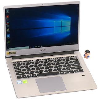Acer Swift 3 SF314-56G Core i5 Gen.8 Fullset