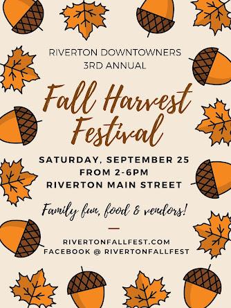 Riverton Fall Harvest Festival - Sept 25