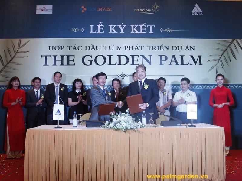 CENINVEST và HDIS hợp tác trong việc đầu tư phát triển dự án The Golden Palm.