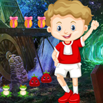 G4K Cute Naughty Boy Rescue Game
