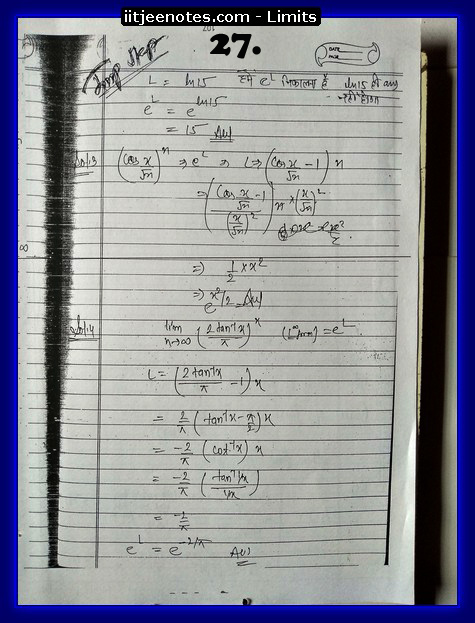 limits notes download kare7