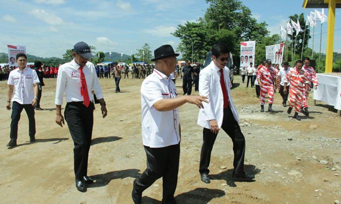 Bupati Enrekang Sambut IYL di Lokasi Hari Sukarelawan