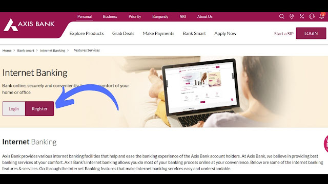 Axis Net Banking