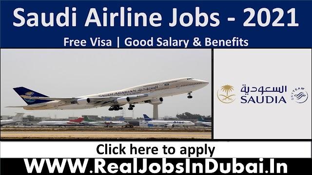Saudi Airline Hiring Staff In Saudi Arabia 2021