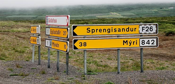 Sprengisandur: La route F26