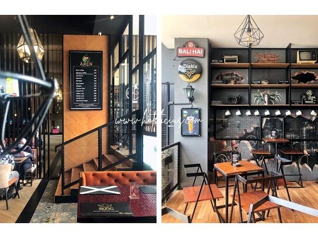 aren coffee shop kedai kopi di hotel bintang tiga jogja
