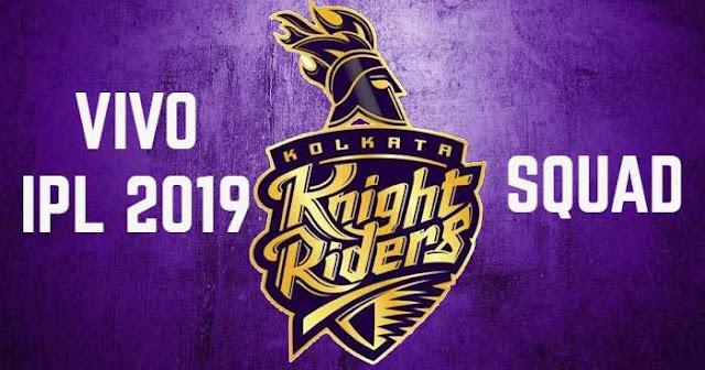 Kolkata Knight Riders (KKR) IPL 2019 Squad