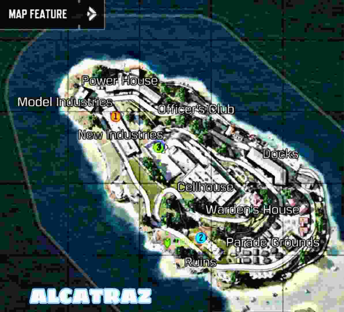 Alcatraz codm