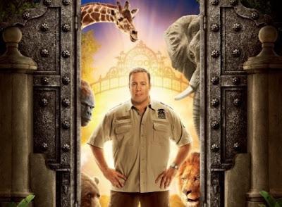 Le film The Zookeeper a pour vedette Kevin James dans le rôle principal de Paul Blart le gardien.