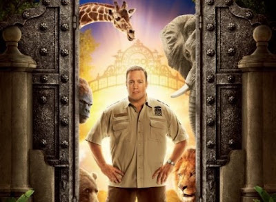 The Zookeeper film is starring Kevin James who had the lead role in Paul Blart Mall Cop.