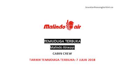 Temuduga Terbuka Di Malindo Airways 2018